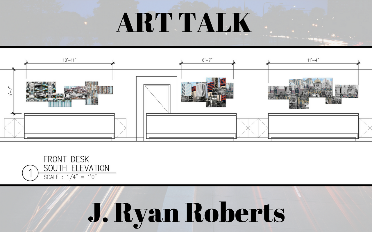 Art Talk: Robert's STL Grand Hotel Commission